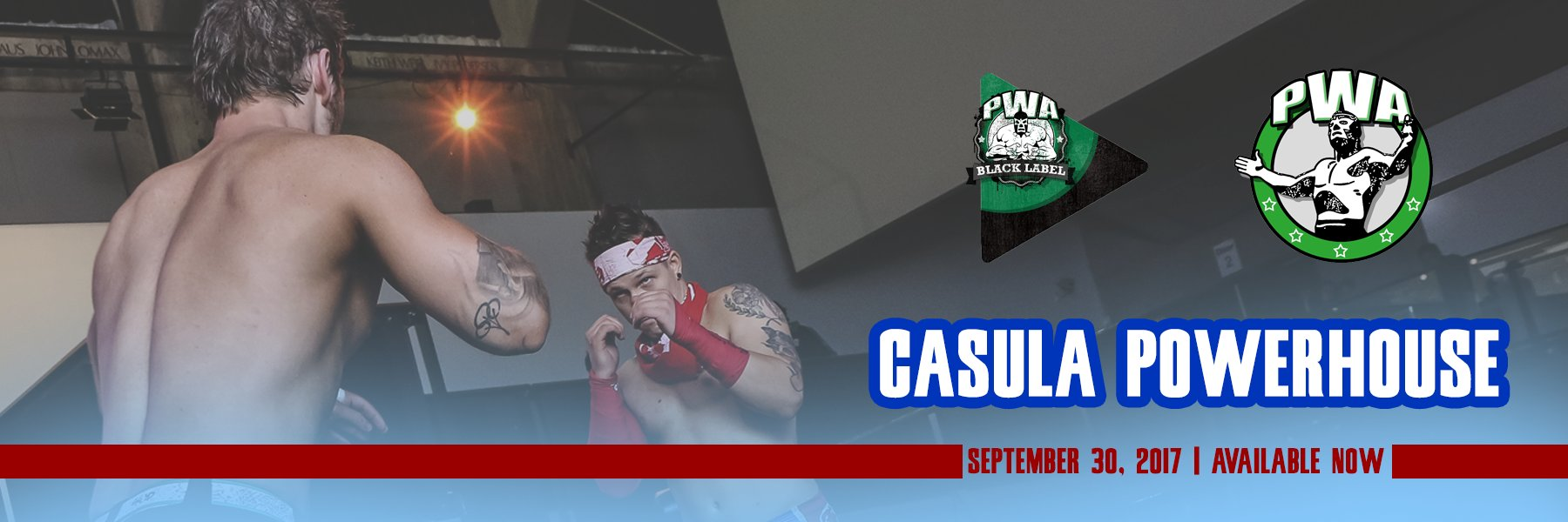 Pro Wrestling Australia LIVE at the Casula Powerhouse! Available now!