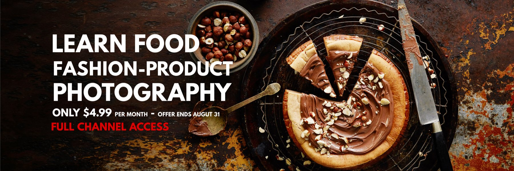 LEARN FOOD - PRODUCT - FASHION PHOTOGRAPHY ONLINE
