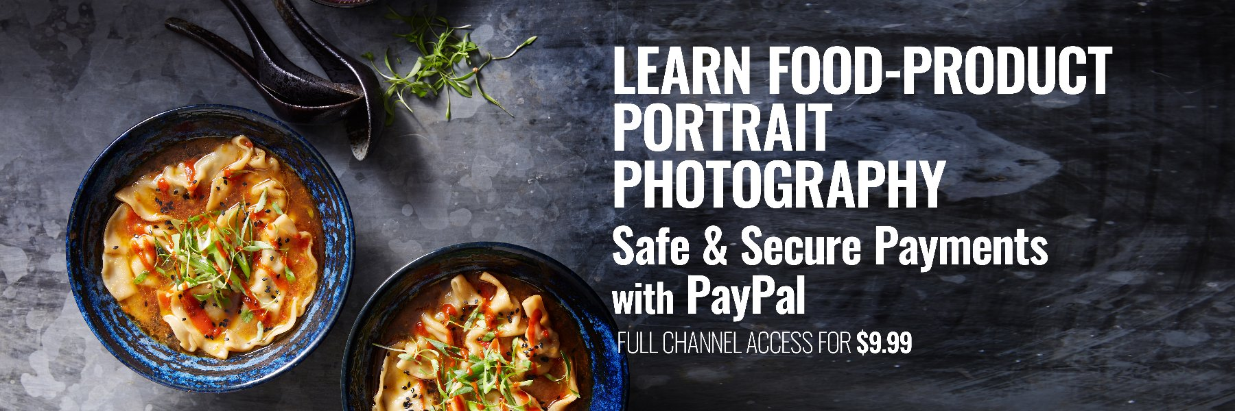 LEARN PHOTOGRAPHY - Safe and secure payments with PayPal