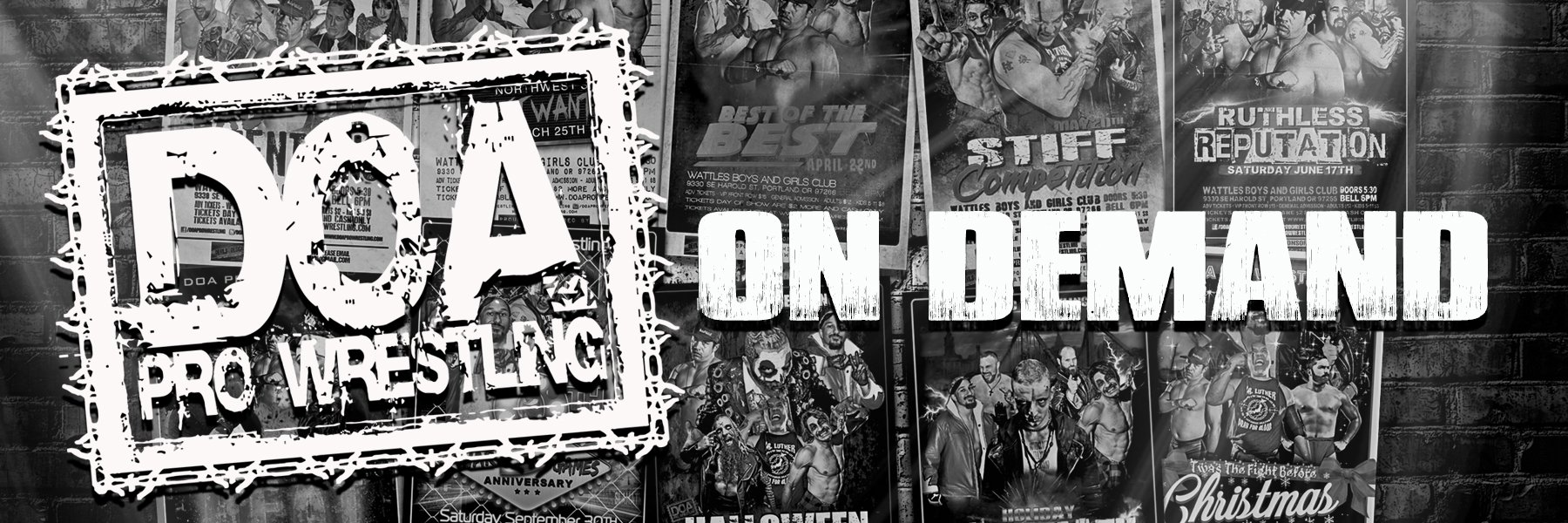 doaprowrestling   The premiere independent wrestling promotion in the Northwest since 2008   Watch Online Videos for Just $2.99
