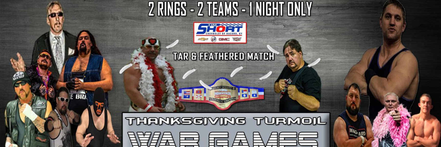 AMW THANKSGIVING TURMOIL: WAR GAMES
