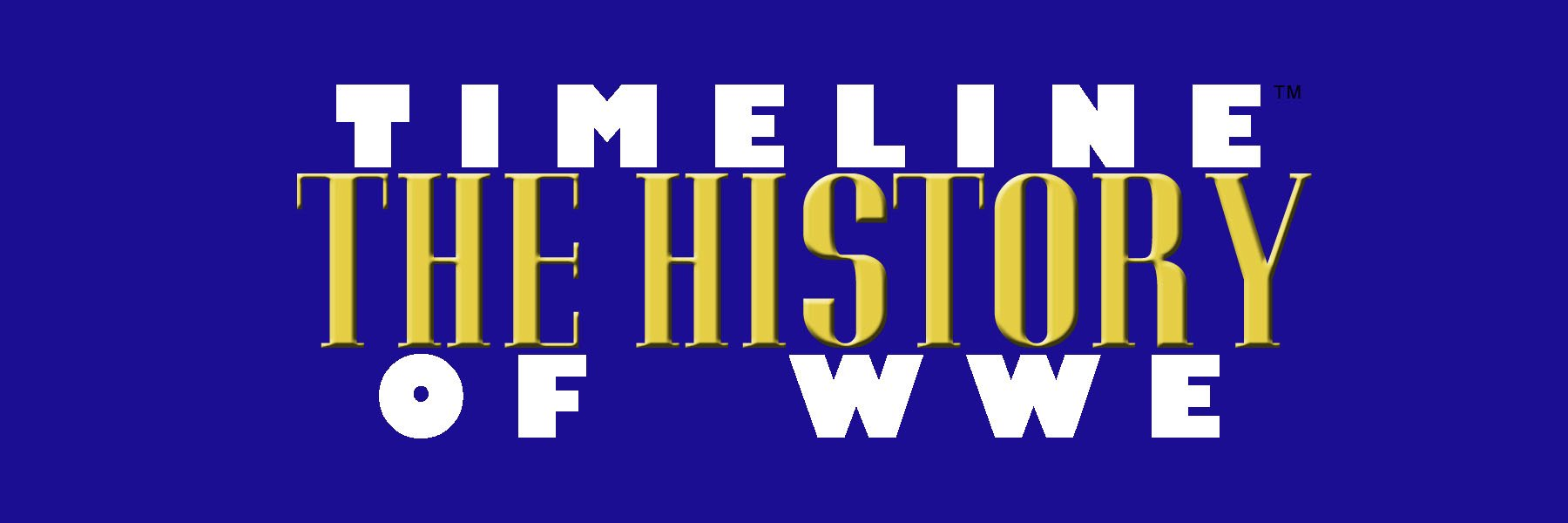 Timeline: The History of WWE