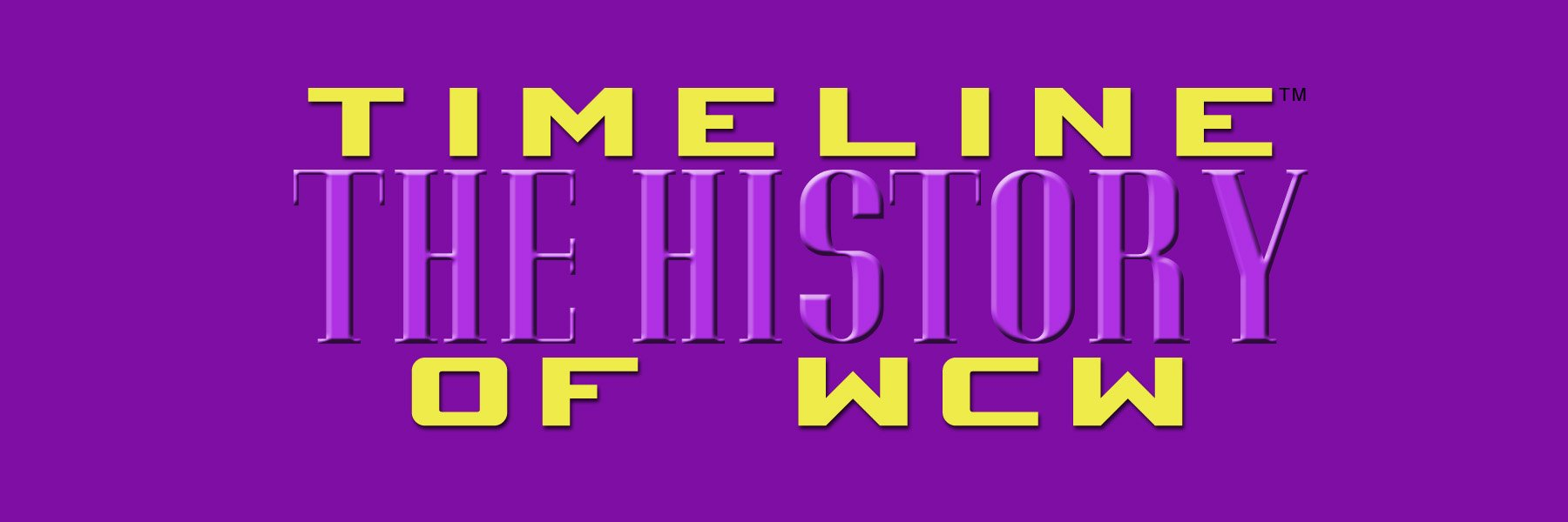 Timeline: The History of WCW