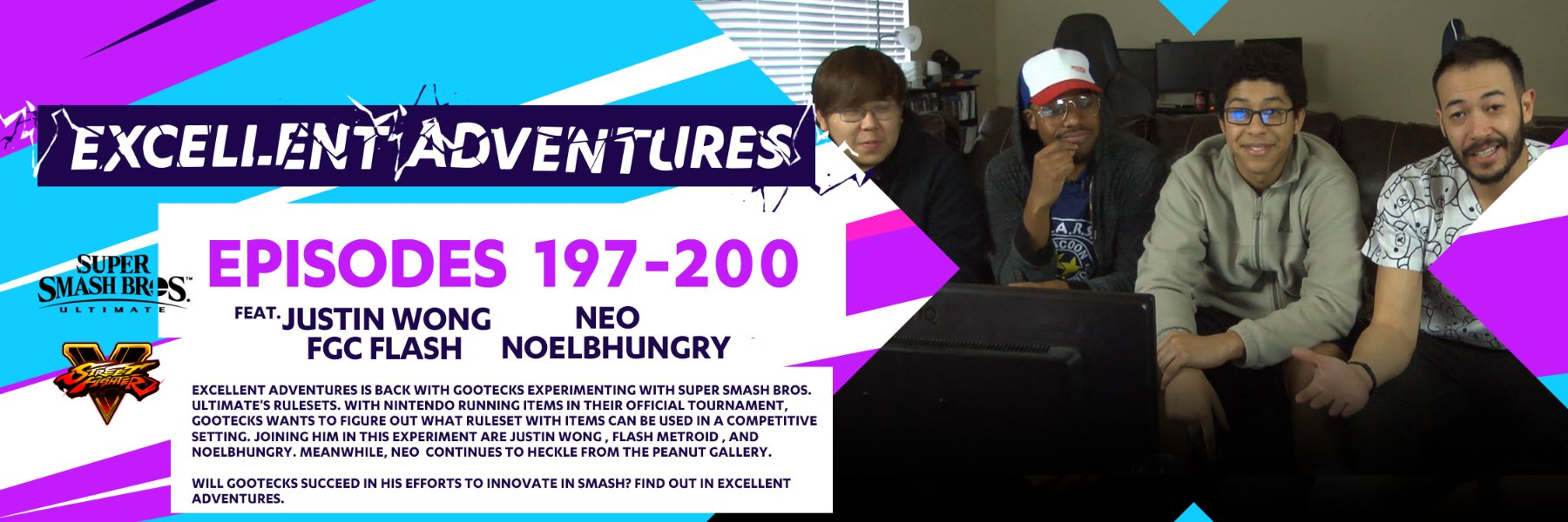 Excellent Adventures returns with SSBU and experimenting with the ruleset!