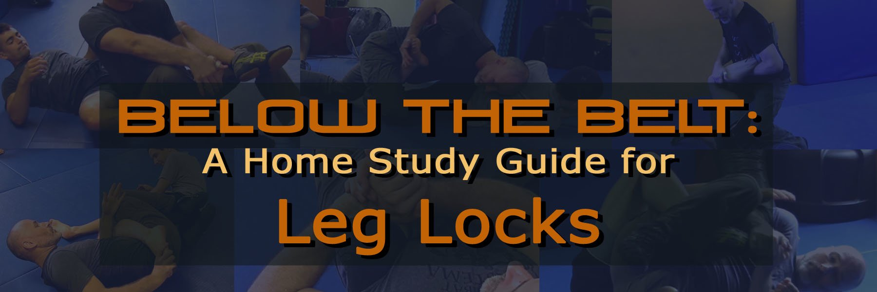 Below The Belt: A Home Study Guide For Leg Locks by Kevin Secours