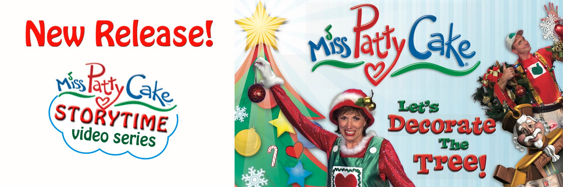 Miss PattyCake Storytime Video Series