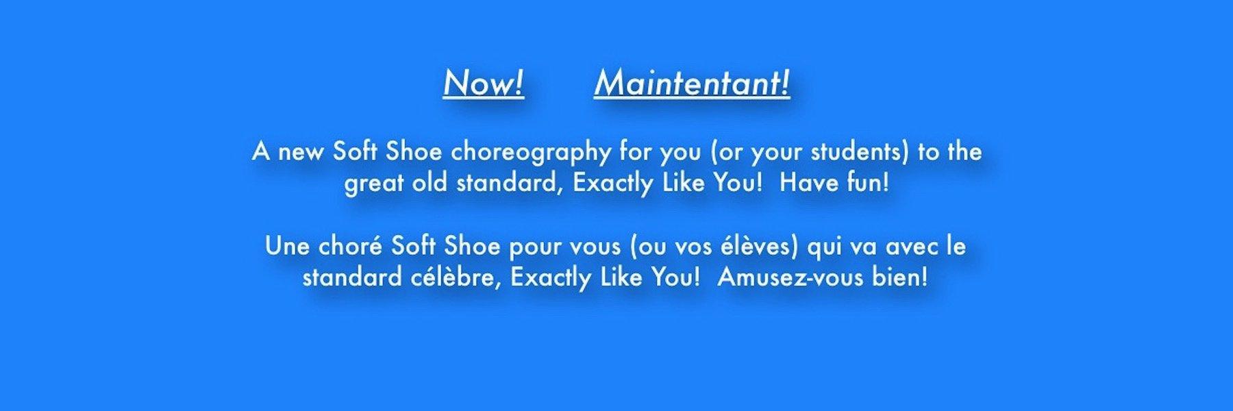 Now! Maintenant! New Choreography! Nouvelle Chorégraphie!
