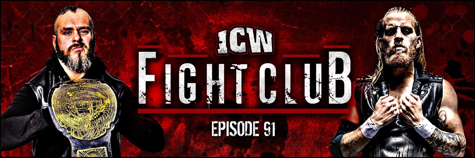 Mark Haskins' ICW debut!