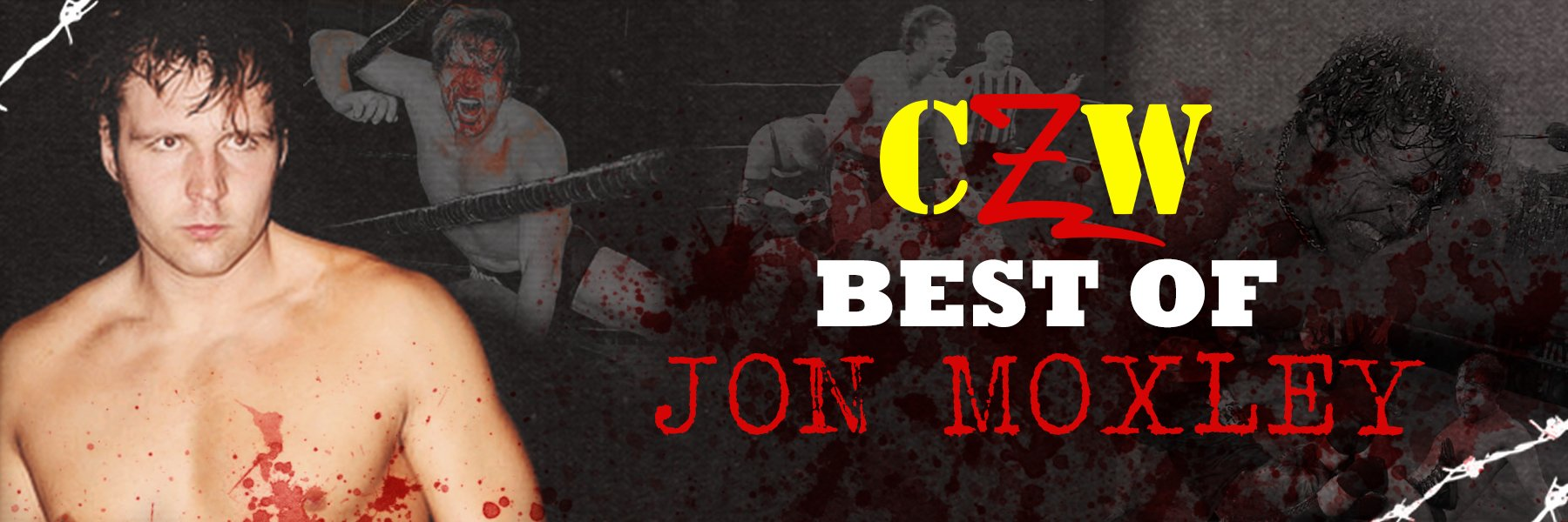 8 HOURS of the best of Jon Moxley in THE COMBAT ZONE!