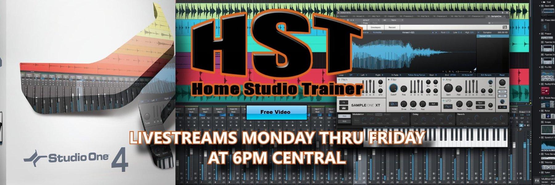 Over 40 Studio One 4 Master Class Videos