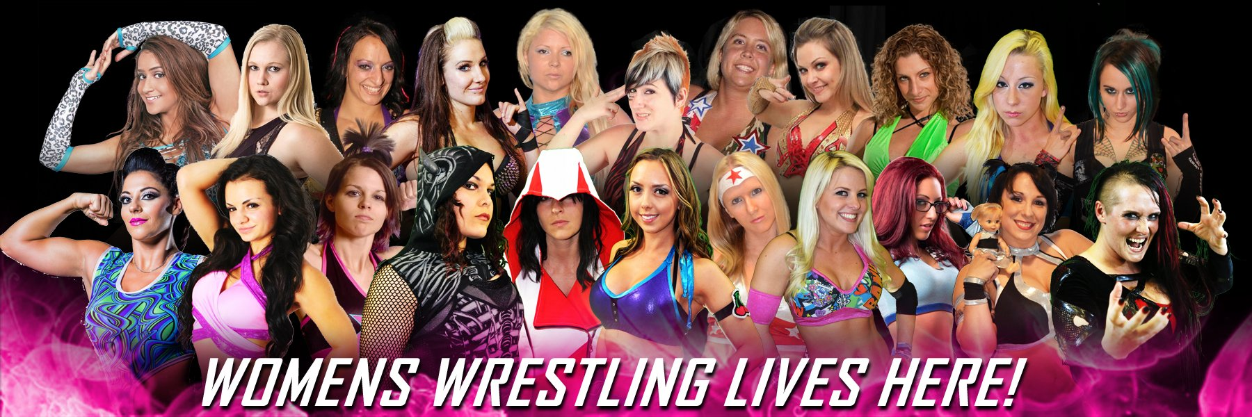 Women's Wrestling Lives Here!