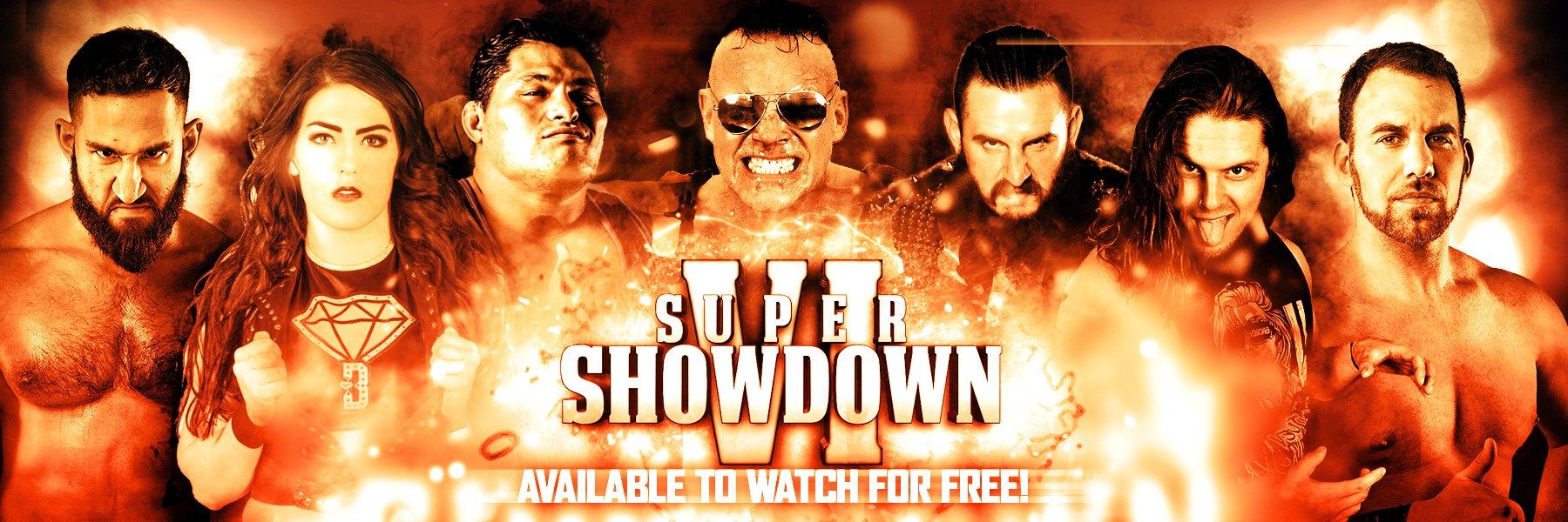 Watch Super Showdown VI for FREE!