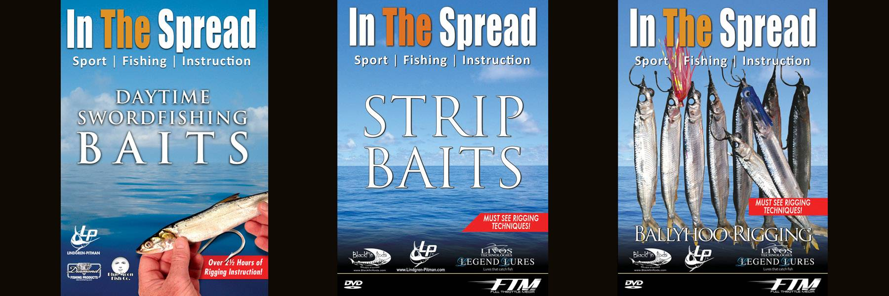 Bait Rigging - In The Spread