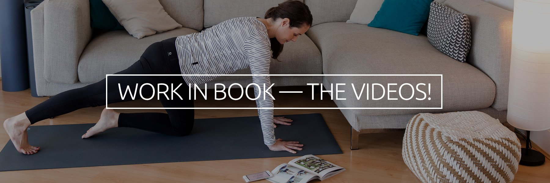 New routines to use alongside the book and optimize your recovery...