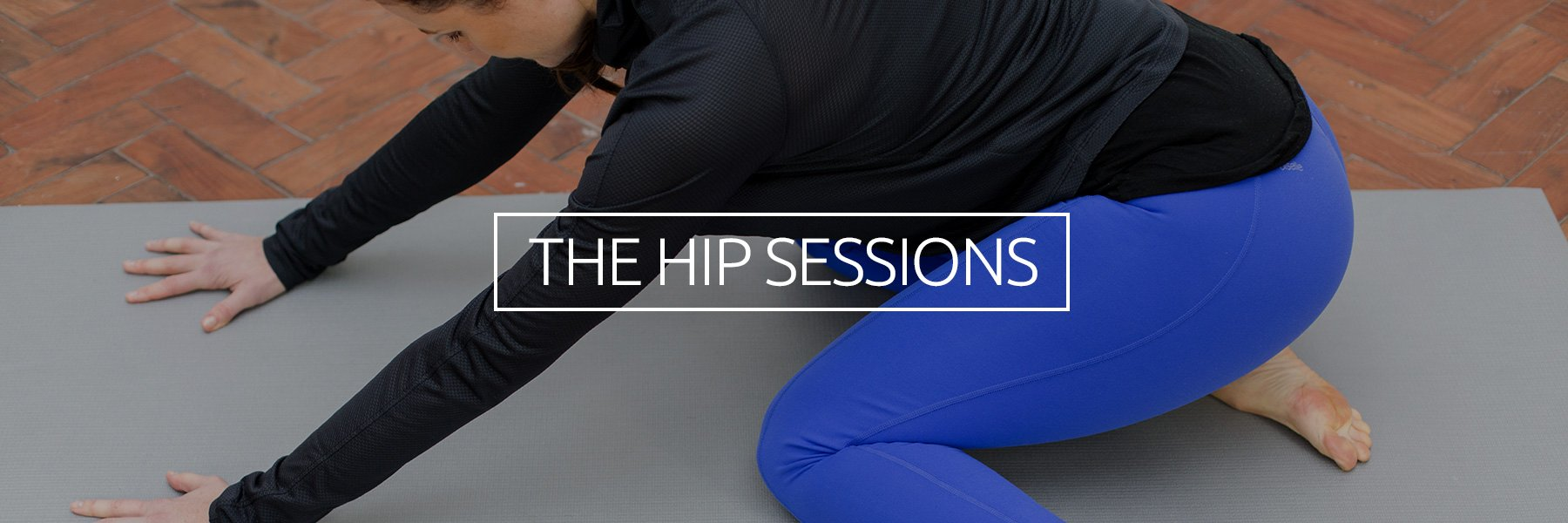 Balance hip mobility and stability!