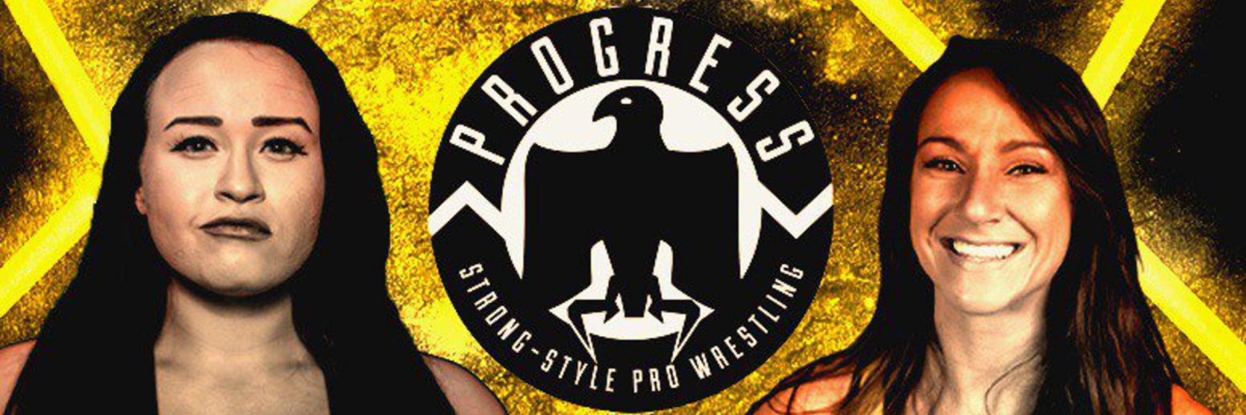Jordynne Grace vs Kylie Rae - PROGRESS Title Match at Warrior Wrestling