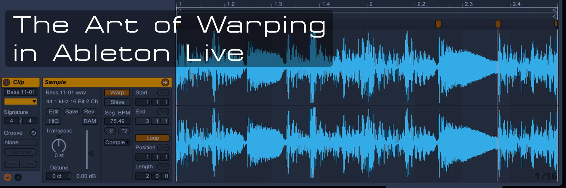 The Art of Warping and Remixing in Ableton Live