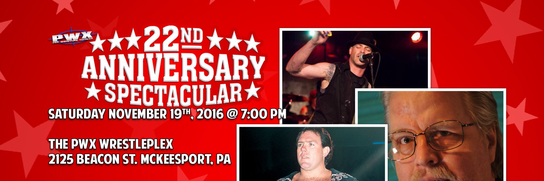Featuring, Michale Graves from The Misfits, Tully Blanchard, & Mark Madden