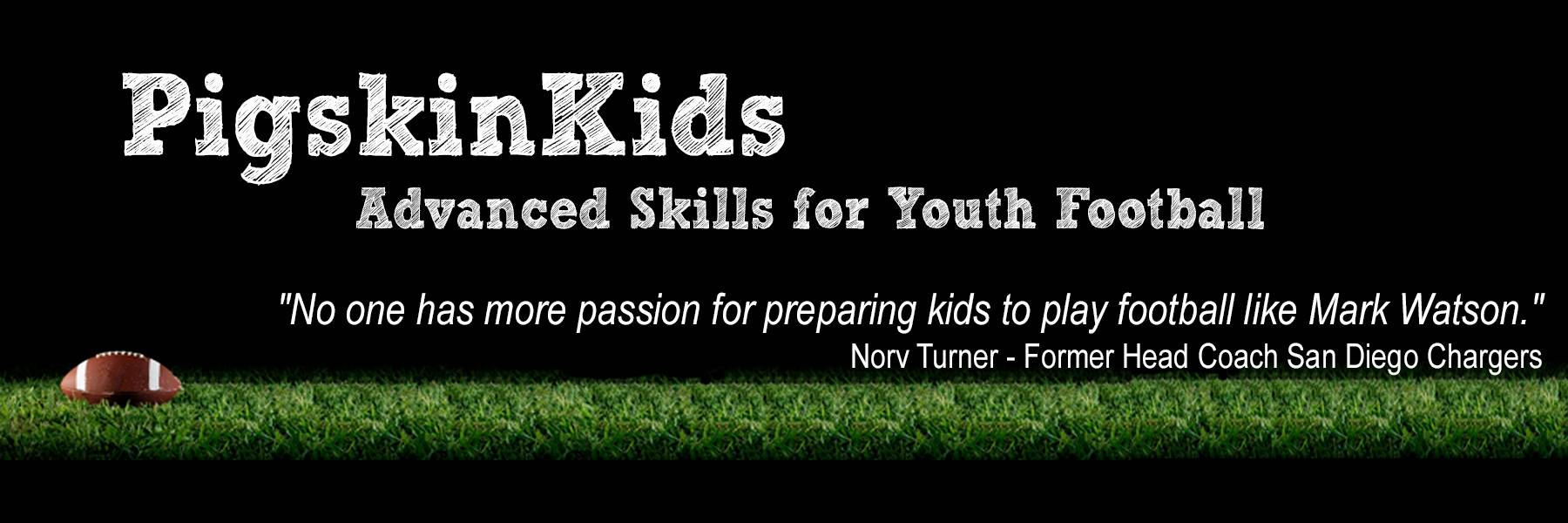 Pigskinkids Com Advanced Skills For Youth Football