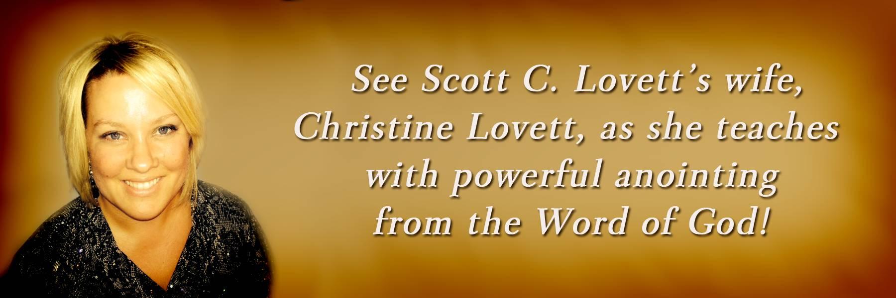 Christine Lovett