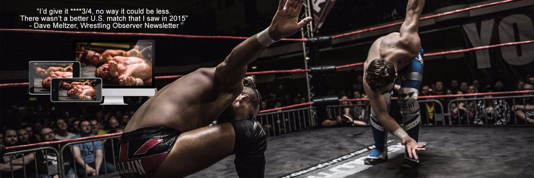 Scurll vs Ospreay - High Stakes 2016 - Find Out For Yourself!
