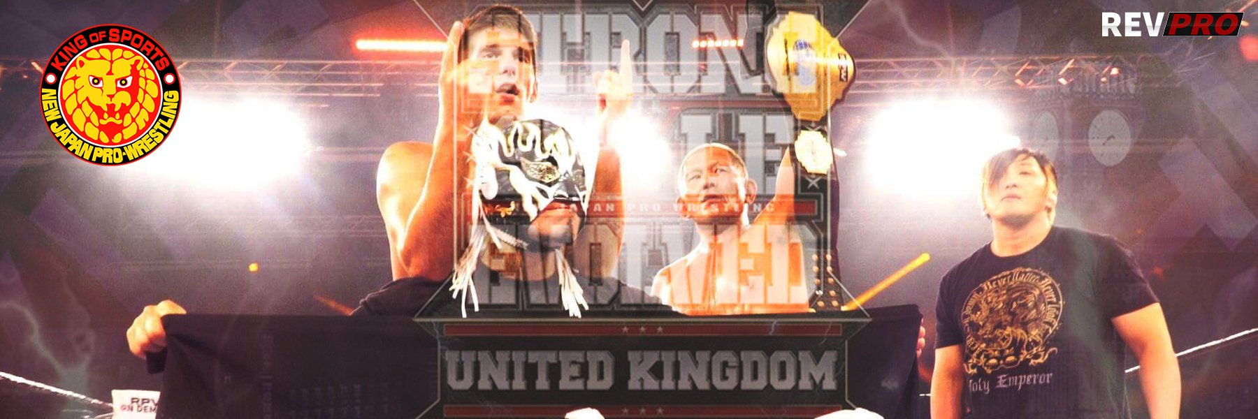 Strong Style Evolved UK: Suzuki-Gun invasion