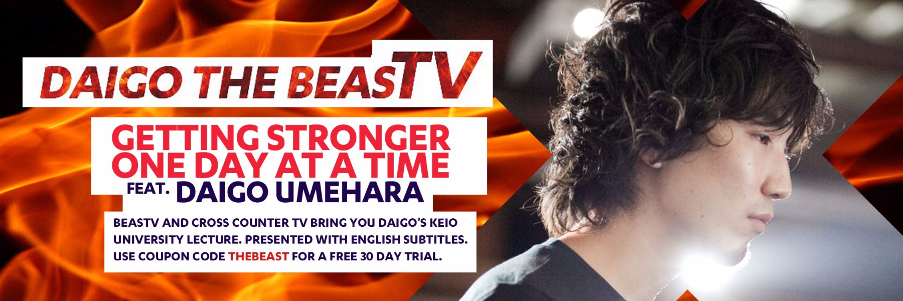 BeasTV and Cross Counter team up to bring you  the wisdom of The Beast