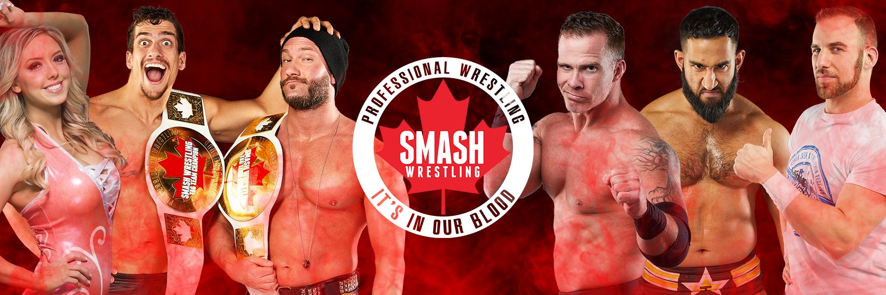 Check out the BEST from Canada's Smash Wrestling
