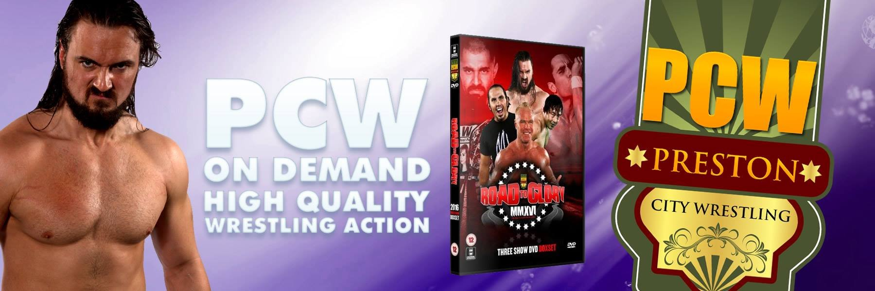 PCW Road To Glory 2016 - Show 1,2 and 3 added to on demand now!