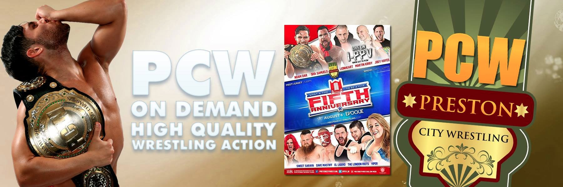 PCW Fifth Anniversary show now available on demand!