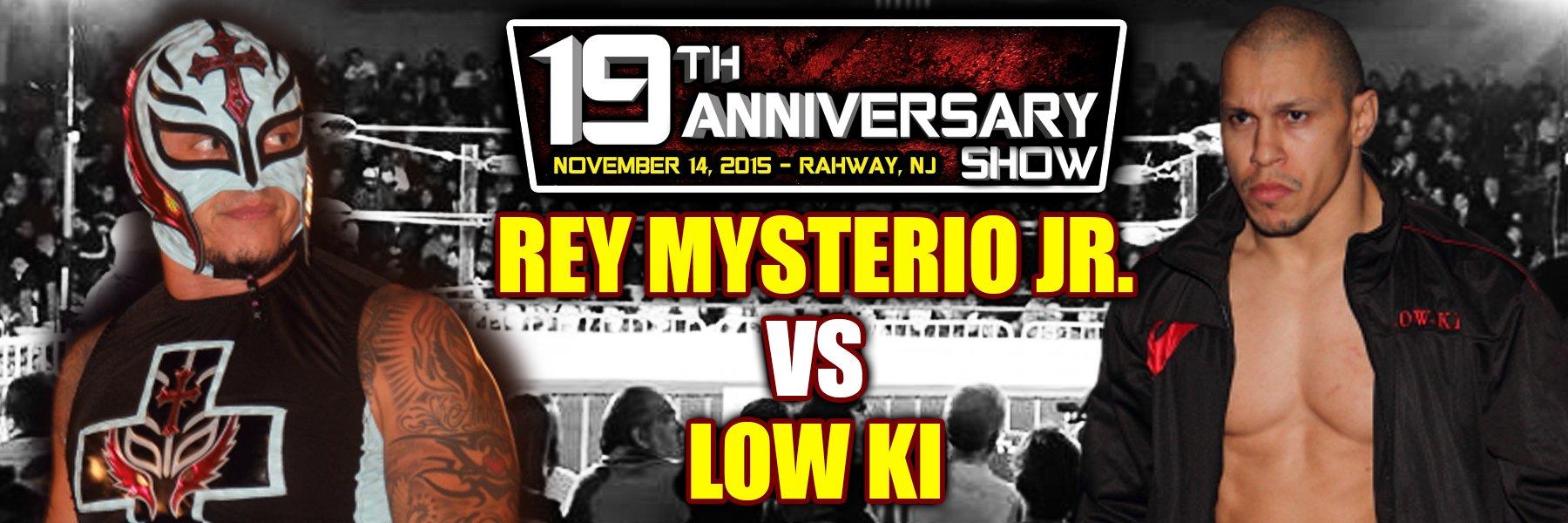 Watch Rey Mysterio Jr vs Low Ki, LAX returns to JAPW, and more!