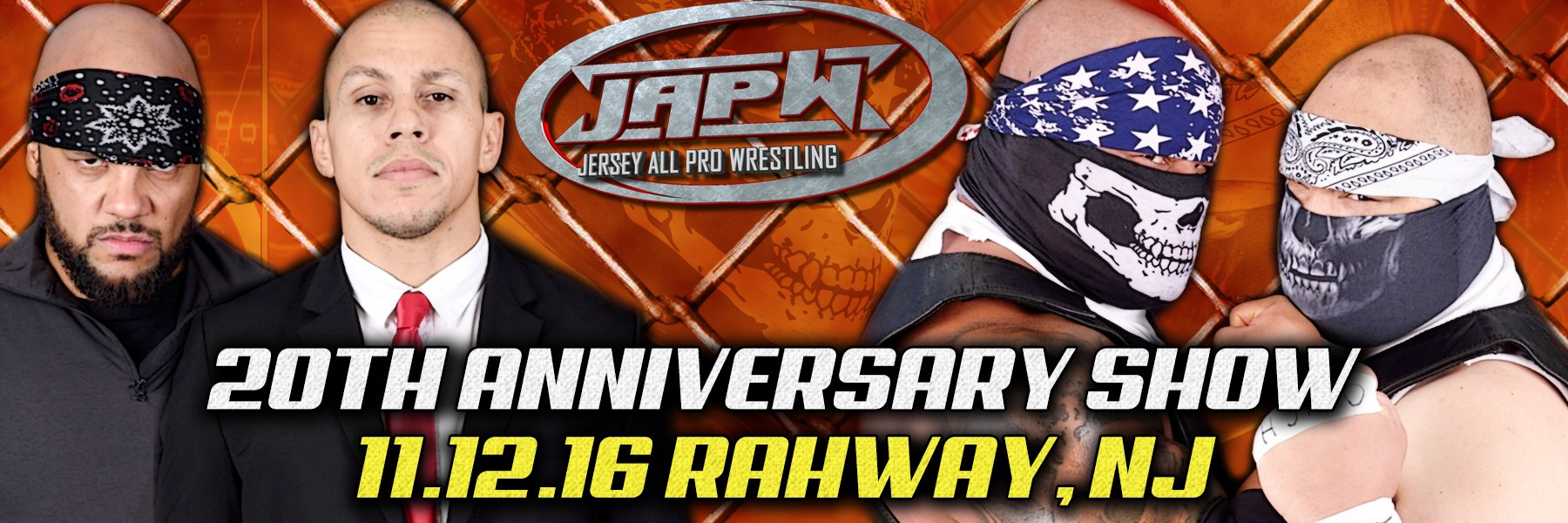 Watch the 20th Anniversary Show from Jersey All Pro Wrestling!