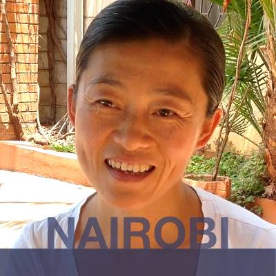 NAIROBI: Wendy from China.