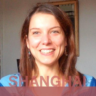 SHANGHAI: Chiara from Italy.