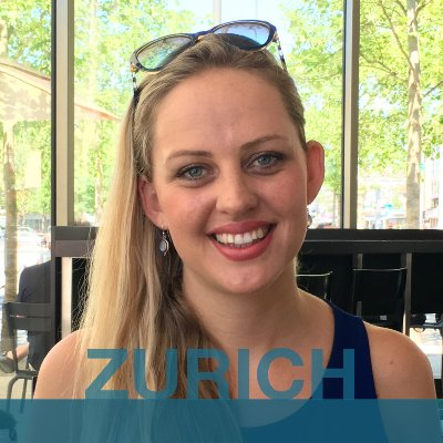 ZURICH: Laureen from South Africa.