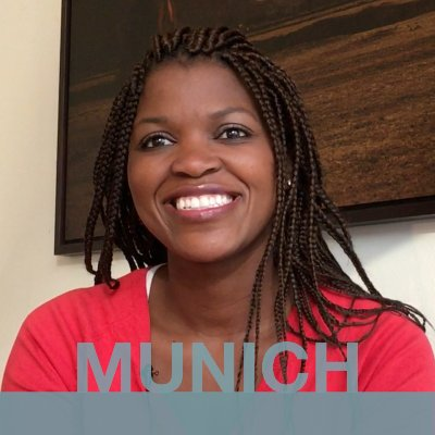 MUNICH: Ntokozo from South Africa.