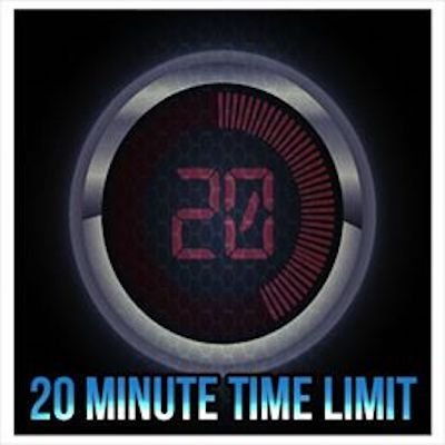20 Minute Time Limit