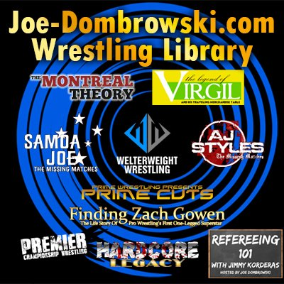 Joe Dombrowski Wrestling Library Headshot