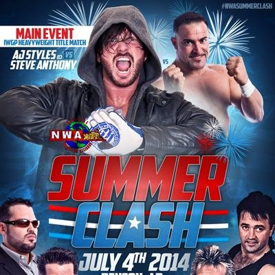 Summer Clash: Featuring IWGP Title Match: AJ Styles vs. Steve Anthony