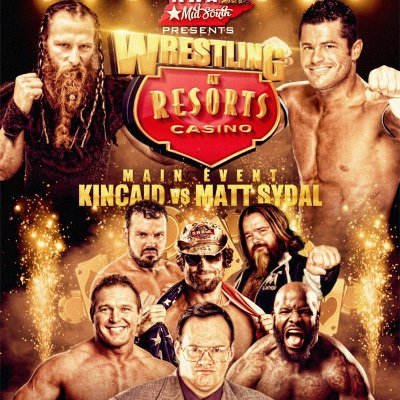 Wrestling at Resorts Casino I & II