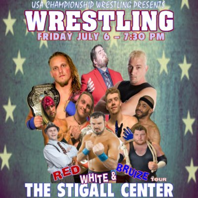 USA Championship Wrestling: Live at the Stigall Center