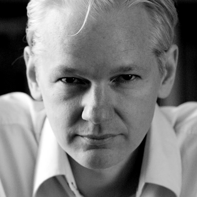 Julian Assange Headshot
