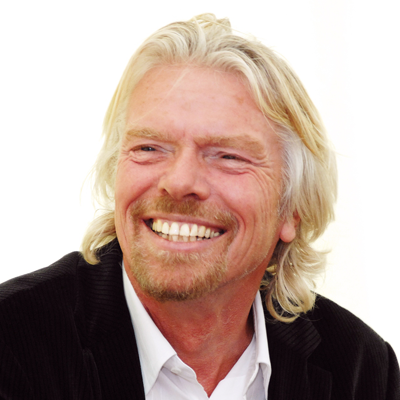 Richard Branson Headshot