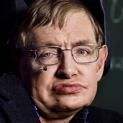Stephen Hawking Headshot