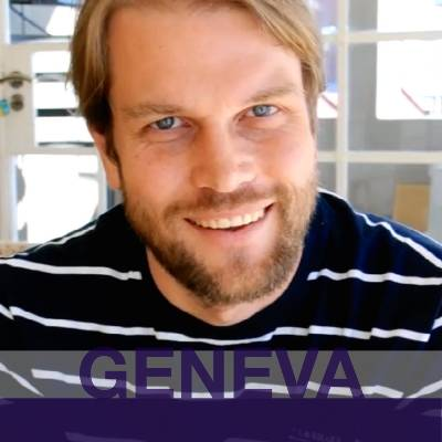 GENEVA: Stefan from Germany. Headshot