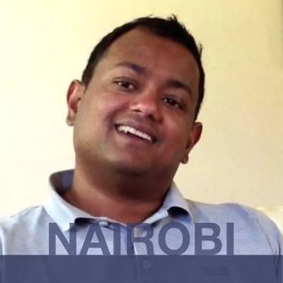 NAIROBI: Ranjith from India.