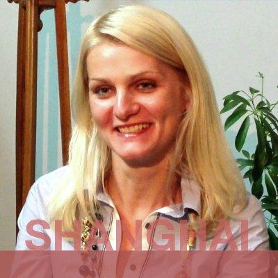 SHANGHAI: Antanina from Belarus.
