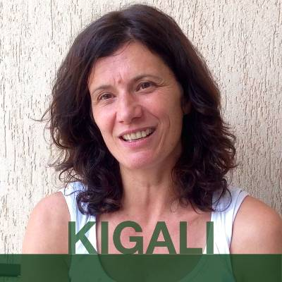 KIGALI:  Heike from Germany. Headshot