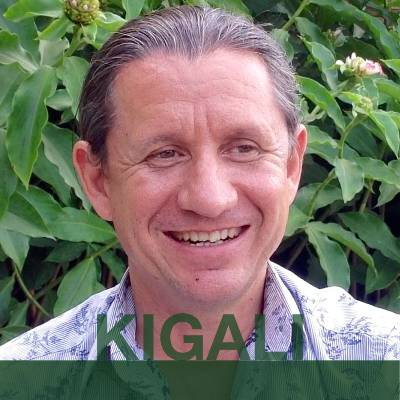 KIGALI: Drew from Australia. Headshot