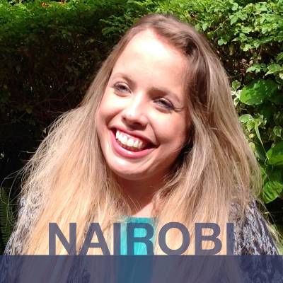 NAIROBI: Blanca from Spain. Headshot